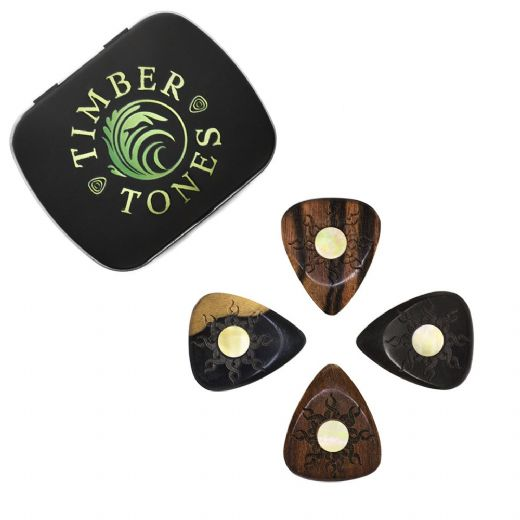 Sun Tones Mixed Tin of 4 Guitar Picks